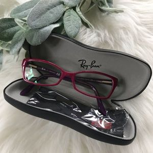 {Ray-Ban} RX5234 Pink Ophthalmic Glasses